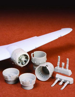 Bristol Blenheim Mk.I/Mk.IV Engine Cowlings & Exhaust (for Airfix kit), 1:72