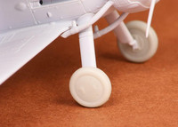 Gloster Gladiator Wheels Set (covered) (for Airfix kits), 1:72