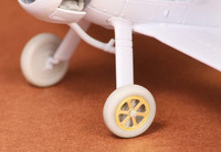 Gloster Gladiator Wheels Set (spoked) (for Airfix kits), 1:72