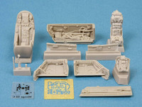 Mirage III C Cockpit Set (for Eduard & Hobbyboss kits), 1:48