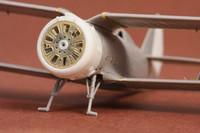 Polikarpov I-153 Cowling & Exterior Set (for ICM & Revell kits), 1:72
