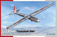 L-13 Blanik Czechoslovak Glider, 1:72