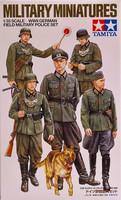 WWII German Field Military Police Set, 1:35
