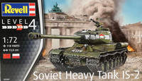 Soviet Heavy Tank IS-2, 1:72