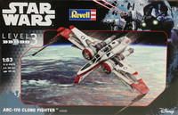 Star Wars, ARC-170 Clone Fighter, 1:83