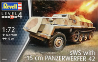 sWS with 15cm Panzerwerfer 42, 1:72
