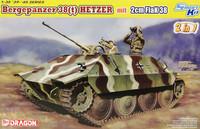 Bergepanzer 38(t) Hetzer mit 2cm Flak38, 1:35