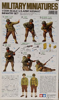 U.S. Army Assault Infantry Set, 1:35