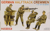 German Halftrack Crewmen, 1:35