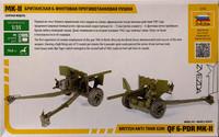 British Anti-Tank Gun QF 6-pdr Mk.II, 1:35