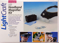 Headband Magnifier Kit with Led