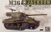 U.S. 90mm Tank Destroyer M36 Jackson, 1:35