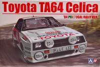Toyota Celica TA64 '84 Portugal Rally Ver. 1:24