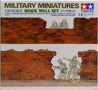 Brick Wall Set, 1:35