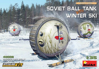 Soviet Ball Tank with Winter Ski, 1:35
