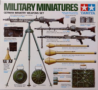 German Infantry Weapons Set, 1:35