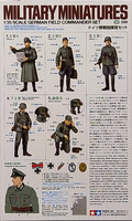 German Field Commander Set, 1:35