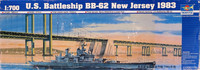 U.S. Battleship BB-62 New Jersey 1983, 1:700