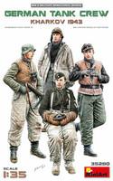 German Tank Crew Kharkov 1943, 1:35