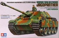 German Tank Destroyer Jagdpanther Late Version, 1:35