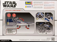 Star Wars, Resistance A-Wing Fighter, 1:44