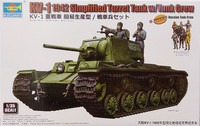 KV-1 1942 Simplified Turret Tank with Crew, 1:35