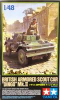 British Armoured Scout Car Dingo Mk.II, 1:48 (pidemmällä toimitusajalla)