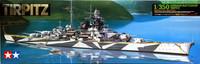 German Battleship Tirpitz, 1:350 (pidemmällä toimitusajalla)