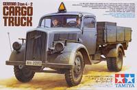 German 3 ton 4x2 Cargo Truck, 1:35