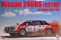Nissan 240RS BS110 '84 Safari Rally, 1:24