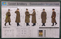 Soviet Artillery, Commander Inspection, 1:35