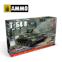 T-54B, 1:72 (pidemmällä toimitusajalla)