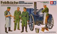 Feldkuche (German Field Kitchen Scenery), 1:35