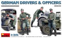 German Drivers & Officers, 1:35