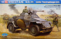 German Leichter Panzerspähwagen Sd.Kfz.221 Early, 1:35