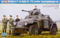 German Leichter Panzerspähwagen Sd.Kfz.221 Late, 1:35