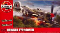 Hawker Typhoon IB,1:72 (pidemmällä toimitusajalla)