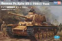 German Pz.Kpfw KV-1 756(r), 1:48