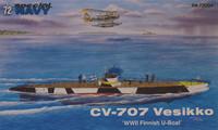 CV-707 Vesikko, 1:72