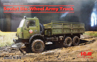 Soviet Six-Wheel Army Truck, 1:35 (sis. extraa)