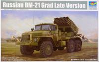 Russian BM-21 Grad Late Version, 1:35