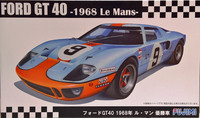 Ford GT40 '68 Le Mans, 1:24
