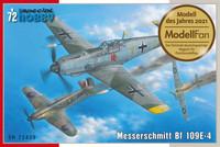 Messerschmitt Bf 109E-4, 1:72 (pidemmällä toimitusajalla)