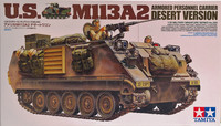 U.S. M113A2 Armored Personnel Carrier Desert Version, 1:35