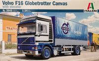 Volvo F16 Globetrotter Canvas with elevator, 1:24