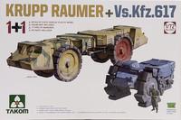 Krupp Raumer & Vs.Kfz.617, 1:72
