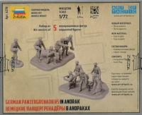 German Panzergrenadiers in Anorak, 1:72 (pidemmällä toimitusajalla)