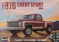 Chevrolet Sport Stepside Pickup 4x4 1976, 1:24