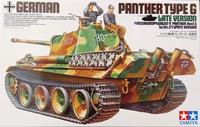 German Panther Type G Late Version, 1:35