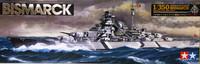 German Battleship Bismarck, 1:350